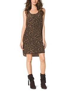 Animal-Print Tank Dress
