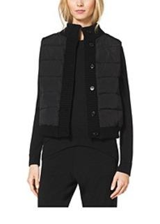 Button Puffer Vest