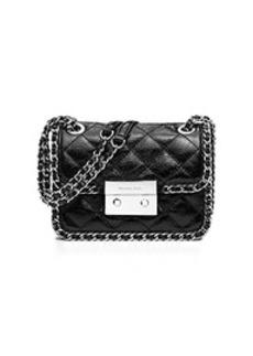 Carine Medium Quilted-Leather Shoulder Bag