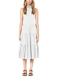 Cotton-Poplin Shirtdress