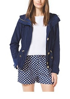 Cropped Anorak, Plus Size