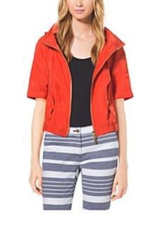 Cropped Hooded Anorak