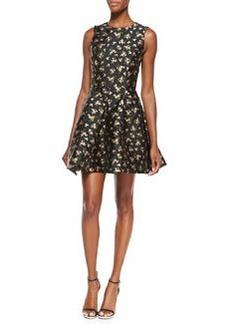 Floral Flirt Dress, Black/Oleander   Floral Flirt Dress, Black/Oleander