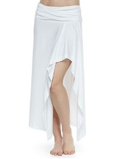 Fold-Over Arched Coverup Skirt   Fold-Over Arched Coverup Skirt