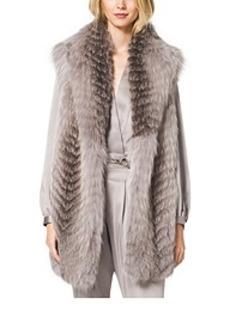Fox Fur Shawl Vest