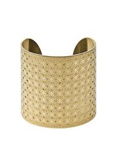 Gold-Tone Logo Cuff