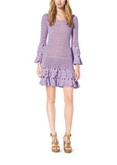 Hand-Crocheted Cotton Cashmere Dress
