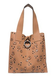 Janey Extra-Large Leather Tote
