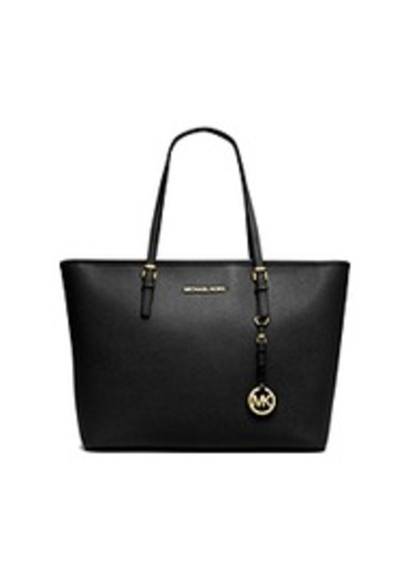 michael kors jet set travel saffiano leather top zip tote. Black Bedroom Furniture Sets. Home Design Ideas