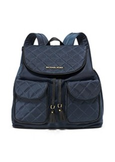 Kieran Large Quilted-Nylon Backpack