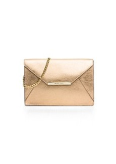 Lana Leather Envelope Clutch