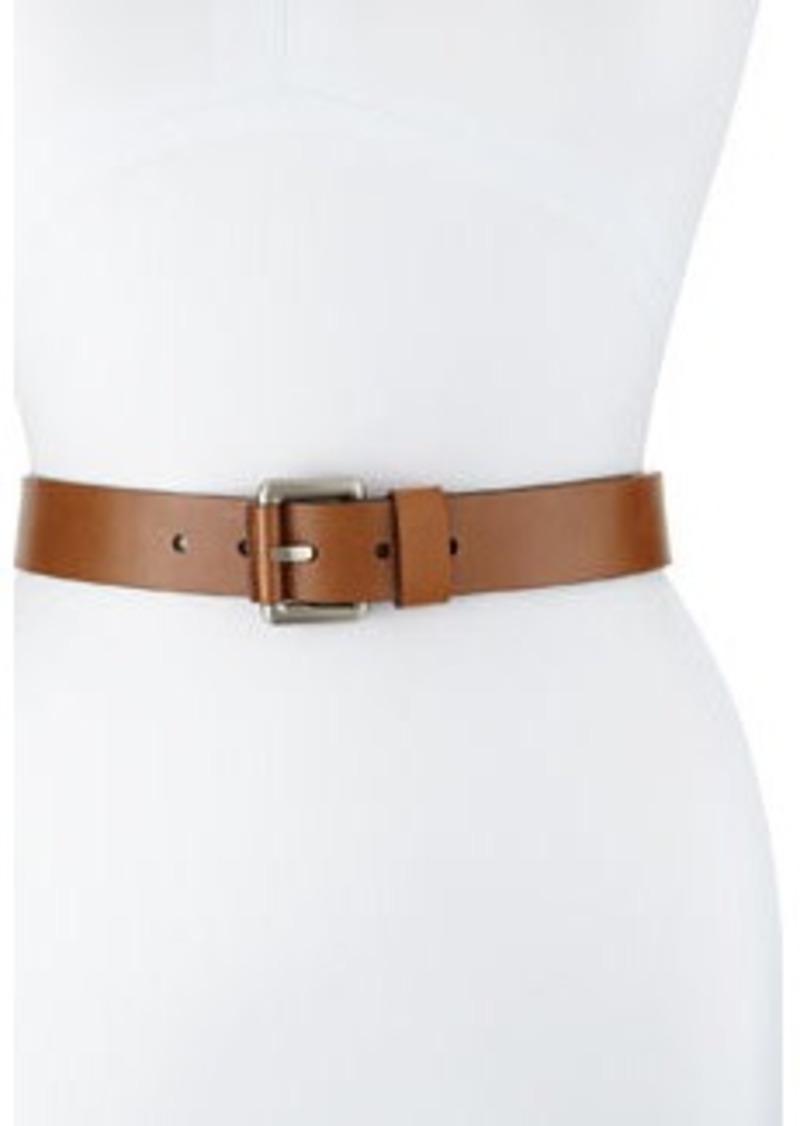 michael kors leather loop hip belt luggage leather loop
