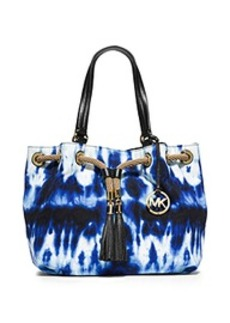 Marina Large Tie-Dye Canvas Tote