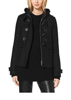 Melton-Wool Toggle Coat