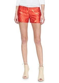 Michael Kors Agate Shantung Shorts