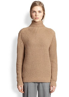 Michael Kors Alpaca & Silk Shaker Turtleneck Sweater