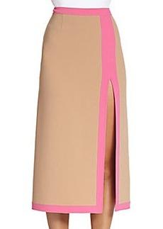Michael Kors Banded Midi Skirt