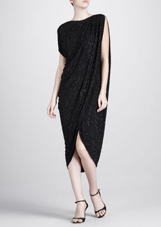 Michael Kors Beaded Jersey Dress