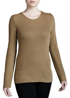 Michael Kors Bias-Knit Cashmere Sweater