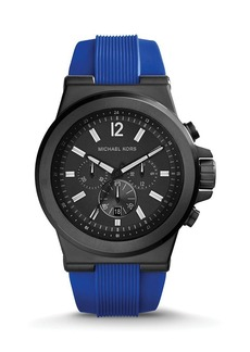 Michael Kors Black & Cobalt Dylan Watch, 48mm