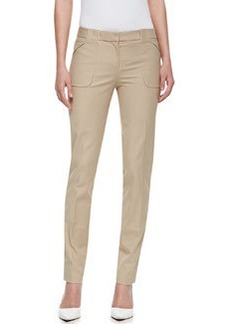 Michael Kors Broadcloth Utility Pants, Hemp