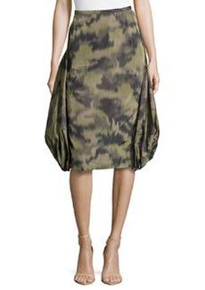 Michael Kors Brushstroke Parachute Skirt