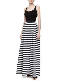 Michael Kors Cabana Stripe Maxi Skirt