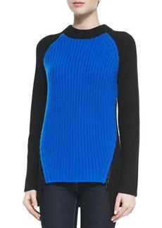 Michael Kors Cashmere Colorblock Shaker Sweater