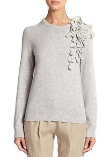 Michael Kors Cashmere Corsage Sweater