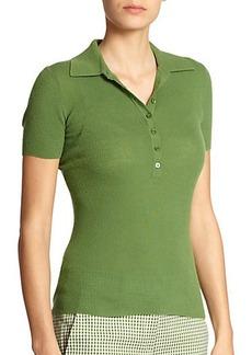 Michael Kors Cashmere Polo Shirt