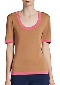 Michael Kors Cashmere Scoopneck Sweater