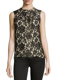Michael Kors CHANTILLY LACE SHELL TOP