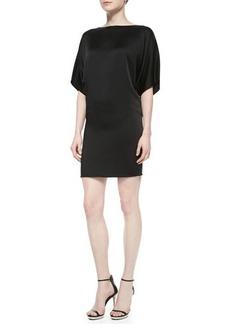 Michael Kors Charmeuse Bateau Shift Dress