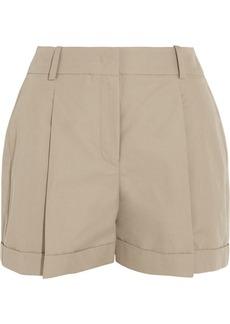 Michael Kors Cotton and linen-blend shorts