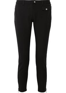 Michael Kors Cotton-blend straight-leg pants