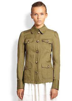 Michael Kors Cotton Cargo Jacket