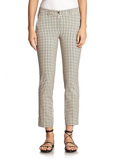 Michael Kors Cotton Check Trousers