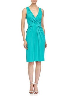 Michael Kors Crisscross Front Dress, Aqua