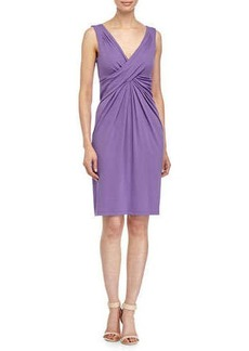 Michael Kors Crisscross-Front Dress, Hyacinth