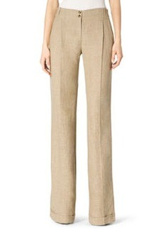 Michael Kors Cuffed Wide-Leg Trousers