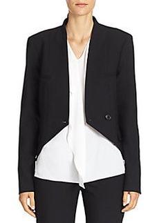 Michael Kors Cutaway Wool Jacket