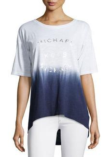 MICHAEL Michael Kors Dip-Dye Logo Tee