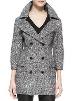 Michael Kors Double-Breasted Tweed Jacket