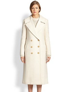 Michael Kors Double-Breasted Wool Coat