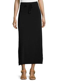 Michael Kors Drawstring-Waist Maxi Skirt