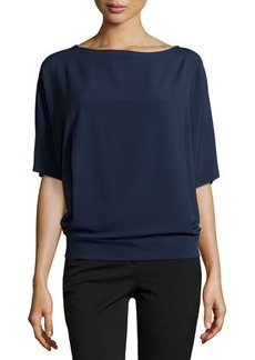 Michael Kors Elbow-Length-Sleeve Tunic