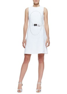 Michael Kors Elliptical Studded Dress