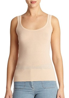 Michael Kors Collection Featherweight Cashmere Tank