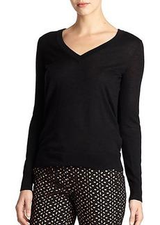 Michael Kors Featherweight Draped Sweater
