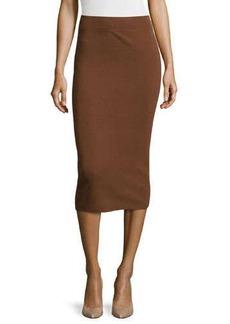 Michael Kors Fitted Tube Skirt, Nutmeg